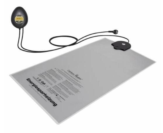 Riscaldatore Carbon Digital 320W per letti ad Acqua